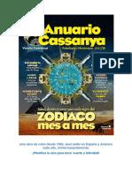 Astrología 2017 Anuario Astrológico Cassanya
