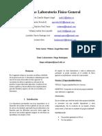 Informe Final Laboratorio Fisica General Parte 1