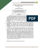 JURNAL (ANALISIS KLAIM KETERLAMBATAN PROYEK KONSTRUKSI).pdf