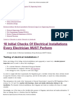 18 Initial Checks of Electrical Installations _ EEP