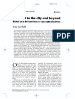 The Right to the City and Beyond_ Notes on a Lefebvrian Re-conceptualization (Merrifield, 2011)