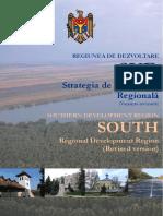 Strategia de Dezvoltare Regionala Sud 2010-2016, revizuită