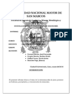 Determinacion de La Plata