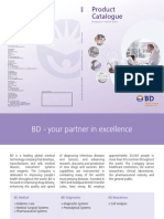 BD Diagnostic Systems Catalogue