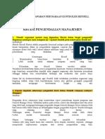 Studi Kasus Dan Jawaban Perusahaan Kontroler Rendell
