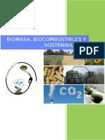 Biomasa, Biocombustibles y Sostenibilidad