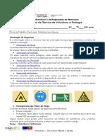 Ficha de Trabalho 11 Pesticidas Símbolos Toxicológicos