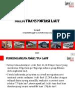 5. Moda Transportasi Laut 2015