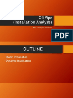 Offpipe Dynamic Analysis Installation