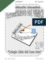 5. Setiembre – Álgebra - 1er Año