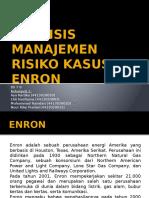 Analisis Manajemen Risiko Kasus Enron
