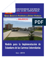 ACREDITACIÓN Modelo-implementacion UNICA