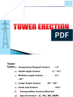 Towers Erection