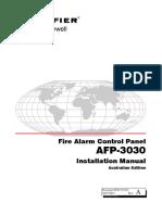 DOC-01-031 - AFP-3030 Installation Manual (AUS) Rev A