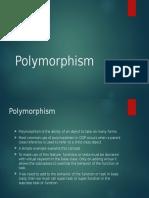 Polymorphsm