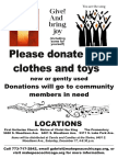 Donation Location Request Flyer