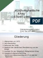 Der Sowjetisch-Afghanische Krieg