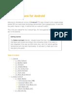 CronosurfWave Android v2.0.1 20160912 En