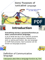 Communicative Language Powerpoint