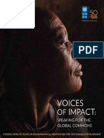 UNDP-GEF Voices of Impact 25years 2016