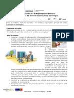 Ficha de Trabalho 16 Pesticidas Cuidados a Ter Durante a Preparação e Aplicação Das Caldas;