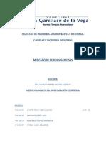 Trabajo-De-Investigación Mercado de Bebidas Gaseosas