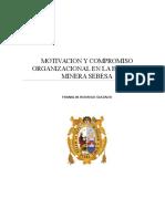 Tesis MOTIVACIÓN INTRÍNSECA Y COMPROMISO ORGANIZACIONAL