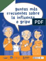 Folleto Preguntas INFLUENZA a(H1N1) Ff103