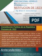 Constitucion de 1823
