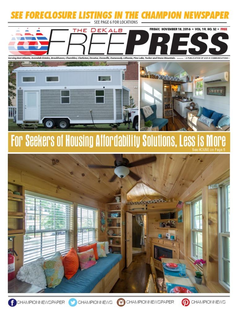 DeKalb Freepress: 11-18-16 | Science, Technology
