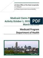 DiNapoli Medicaid Audit 113016