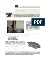 Numerical Modelling and Computation Methods of Concrete Face Rockfill Dam