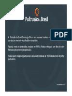 Apresentação Pultrusão Do Brasil