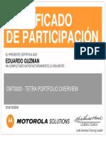 Dmt0020 - Tetra Portfolio Overview