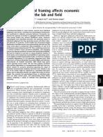 Sonnemann Camerer Fox Langer 2013 - behavioral finance