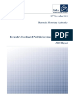 Bermuda Coordinated Portfolio Investment Survey 2015 Report