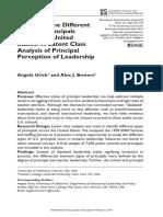 Educational Administration Quarterly 2014 Urick 96 134