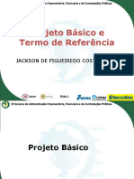 Elementos do Projeto Básico e do Termo de Referência