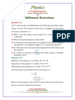 12 Physics NcertSolutions Chapter 7 Exercises Additional