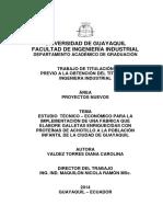 Estudio Tecnico Galletas de Achotillo