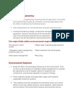 CE101 Reporting Environmental Engineering