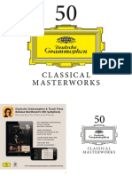 Digital Booklet - 50 Classical Masterworks