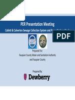 Draft Catlett Calverton Sewer Engineering Report — Dewberry