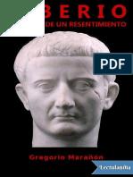 Tiberio, Historia de Un Resentimiento - Gregorio Maranon