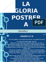 La Gloria Postrera