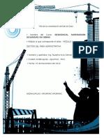 Trabajo Modulo i Funciones y Limitaciones de Residente de Obra