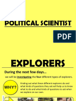 Explorers - Political Scientist
