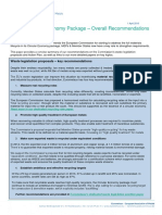 Circular Economy Package - Overall Recommendations From the EU Metals Industry
