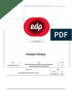 PT.dt.PDN.03.05.012 - Padrão de Montagens Em Postes Duplo T