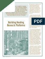 Building Nest Boxes